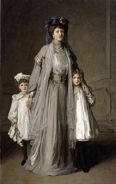 In Morocco The Chess Players Mrs. McEwen of Marhmont And Bardrochat  With Her Daughters Father And Daughter To Pastures New The Goose Girls Under The Cherry Tree Portrait Of The Honorable Diana Jan…