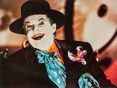 """Jack NIcholson en """"Batman"""", 1989"""
