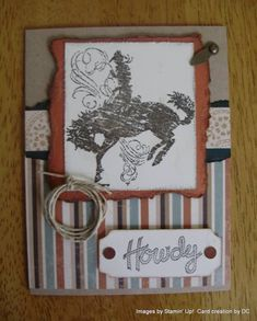 H is for Horse by DCinkit - Cards and Paper Crafts at Splitcoaststampers