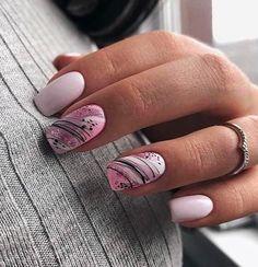Acrylic short square nails design for summer nails, french manicures, short nai. - Acrylic short square nails design for summer nails, french manicures, short nai… - Square Nail Designs, Colorful Nail Designs, Cool Nail Designs, Acrylic Nail Designs, Pastel Color Nails, Solid Color Nails, Nail Colors, Pastel Colors, Pink Nail Art