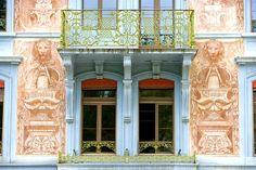 14011.  Architectural detail in Einsiedeln, Switzerland - Jim Zuckerman Photography