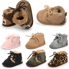 5fe7c9b9 WONBO 2018 Winter Fashion Baby Snow Boots Worm Baby Boots Infant Toddler  Shoes. Yesterday's price: US $4.97 (4.12 EUR). Today's price: US $4.32  (3.58 EUR).