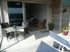 Waimanu Lodge Northland New Zealand. Harbor View, New Zealand, Patio, Studio, Luxury, Outdoor Decor, Home Decor, Decoration Home, Terrace