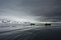 Walking Across a Frozen Sea · Maptia