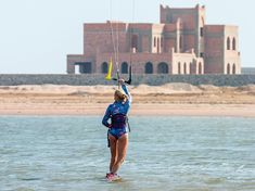 Kitesurfing in the lagoon - kitegirl - @kitejoy_magazine on Instagram Kitesurfing, Boarders, Belgium, Louvre, Magazine, Building, Travel, Instagram, Viajes