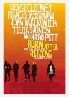 Burn After Reading ~ Fuck Yeah Movie Posters!
