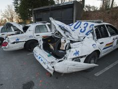 B.C. man arrested after allegedly destroying six RCMP cars in ...