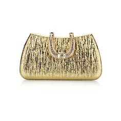 Handbag PU Evening Handbags/Clutches With Glitter/Crystal/ Rhinestone – USD $ 16.99