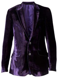 New Womens Blazer Jacket Tuxedo 2 Button Casual Coat Party Wear Velvet Purple Velvet Suit, Velvet Blazer, Purple Velvet, Mens Designer Blazers, Blazers For Men, Mode Purple, Purple Style, Deep Winter Colors, Purple Blazers