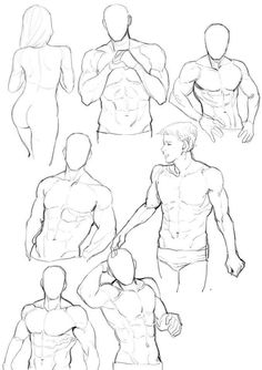 Human Body Art Male Figure Drawing Reference 25 New Ideas Art Poses, Drawing Poses, Drawing Sketches, Cool Drawings, Drawing Tips, Body Sketches, Sketching, Human Figure Drawing, Figure Drawing Reference