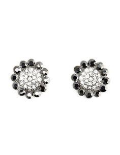 Beaded Sunflower Stud Earrings: Charlotte Russe $6