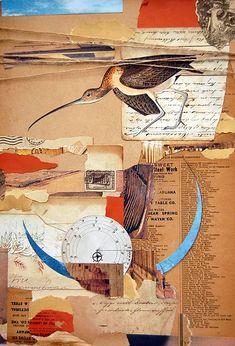 ephemera collage jennifer dowdell