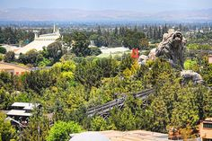 A Bird's-Eye View | I've tagged the various Disneyland Resor… | Flickr