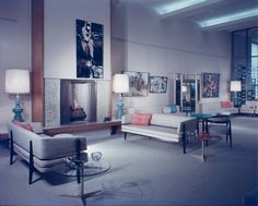 1957 Joseph Salon Shoes   Beverly Hills, CA   Photos: Maynard L. Parker  Interior Designer: Norman Hansen   Architect: Welton Becket & Associates  Source: hdl.huntington.org