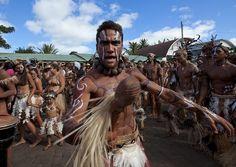 Tribal Dances During Carnival, Tapati Festival, Easter Island, Chile | Flickr: Intercambio de fotos