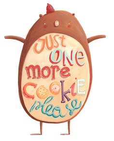 Just One More Cookie... on Behance