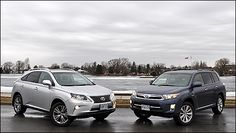 2013 #Toyota #Highlander #Hybrid / #Lexus #RX450h comparison test | Auto123.com - This comparo is not like the others given that these two vehicles are the proverbial peas in a pod. The 2013 Toyota Highlander Hybrid and 2013 Lexus RX450h have more in common than not.
