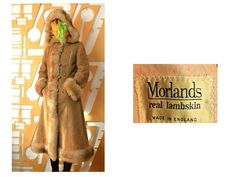 Bohemian Gown, Boho, Shearling Coat, Fur Coat, Penny Lane Coat, Victorian Coat, Sheepskin Coat, Maxi Coat, Vintage Wardrobe
