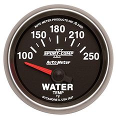 Auto Meter 3637 Sport Comp II Electric Water Temperature gauge-Auto88 >>> Details can be found by clicking on the image.