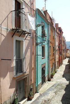 Bosa - Paysge Sardaigne - Oristano, Sardinia, Italy.