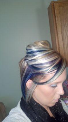 Peacock hair!