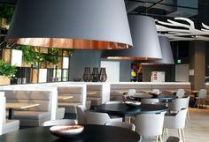 Finke Center Hamm, Marktrestaurant LA CANTINA. Design made by SODA.