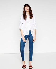 Image 1 of SKINNY JEGGINGS from Zara