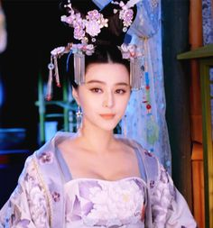 Fan Bingbing in 'Empress of China'. Geisha, Asian Girl, Asian Woman, The Empress Of China, Fan Bingbing, Fan Picture, Ancient Beauty, Chinese Clothing, Period Costumes
