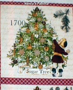 . Christmas Fabric Panels, Christmas Tree, Christmas Ornaments, Quilting, Holiday Decor, Teal Christmas Tree, Christmas Jewelry, Xmas Trees, Fat Quarters