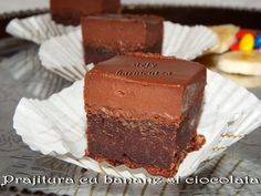 Chocolate Lovers, Something Sweet, Food And Drink, Sweets, Desserts, Cakes, Banana, Tailgate Desserts, Deserts