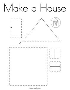 Make a House Coloring Page Make a House Coloring Page,formen Make a House Coloring Page – Twisty Noodle Related posts:DIY Ocean Craft For Kids Blue Whale Crab And Fish · The Inspiration Edit -. Preschool Family, Preschool Learning Activities, Free Preschool, Preschool Worksheets, Preschool Activities, Teaching Kids, Kids Learning, Cutting Activities For Kids, Preschool Cutting Practice