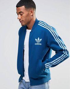 18e1326287c7 Adidas Originals - adicolor B10666 - Veste de survêtement - Bleu - Bleu sur  Flayr Veste