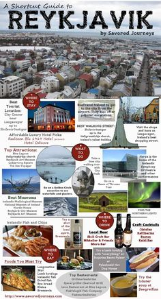 Traveling to Iceland? Check out this travel guide to Reykjavik Iceland. Everything you need to know about travel in Reykjavik.