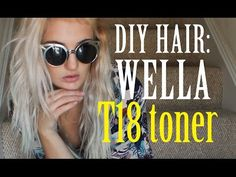 DIY Hair: How to Tone Blonde Hair with Wella Color Charm Toner Let's dive into the world of hair ton Toning Blonde Hair, Toner For Blonde Hair, Blonde Hair At Home, Yellow Blonde Hair, Silver Blonde, Ash Blonde, Platinum Blonde, Grey Hair, Silver Hair
