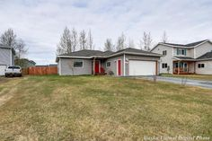 Open Saturday, Jul 8 from 1:00 - 4:00.  Awesome home! S 1100 Gurn Circle, Palmer, Alaska, 99645