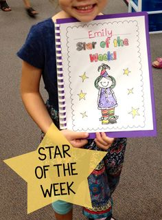 Star of the week FREE classroom booklets!