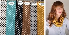 BLOWOUT Fall Polka Dot Infinity Scarves $5, Family Tree 8x10 Print & More! - http://www.pinchingyourpennies.com/blowout-fall-polka-dot-infinity-scarves-5-family-tree-8x10-print/ #Jane, #Pinchingyourpennies
