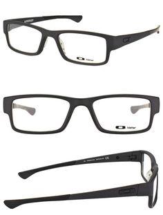 41eb8f3685 Fashion Eyewear Clear Glasses 179244  Oakley Airdrop Ox8046-0153 Satin Black  Plastic Sport Eyeglasses