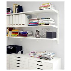 IKEA - ALGOT Wall upright/shelves white
