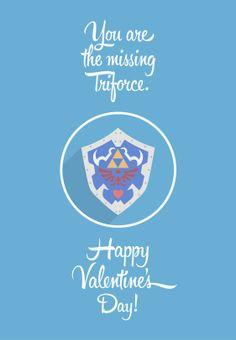 Happy Valentines Day !, The Legend of Zelda artwork by Frederico De Iorio