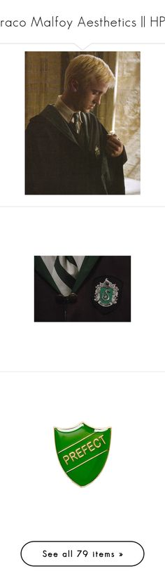 """""""Draco Malfoy Aesthetics 