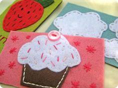 Felt Magnets – DIY Fun! {Tutorial}...sweet and simple project! #diy #felt #craft