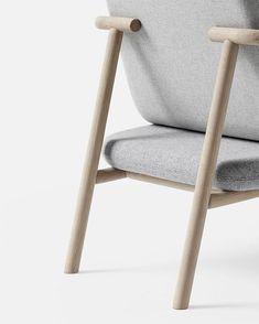 Oak wrapped detail 'For Now' by @chrisliljehal #interiordesign #danishdesign #furniture #chrisliljehal #plushalle #creatinghumanspaces