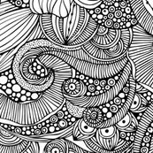 This could be a Doodles colouring sheet