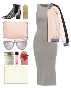 """4.059"" by katrina-yeow ❤ liked on Polyvore featuring Maison Scotch, Isabel Marant, Ted Baker, Karen Walker, Brooklyn Candle Studio, MAC Cosmetics and TONYMOLY"