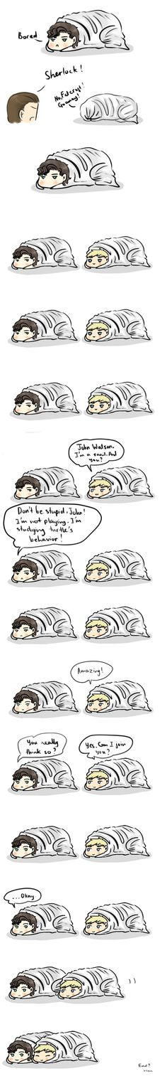 Adorable.  Even though I hate Johnlock