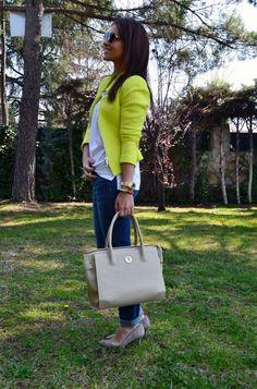 wearing the in beige Estilo Blogger, Zara, Winter Springs, Lady Dior, Fall Winter, Autumn, Jeans, Spring Summer, Street Style