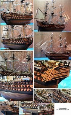 Admiralty Ship Models