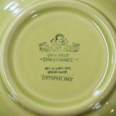 Mid Century Dinnerware Set Harmony House Symphony by KOLORIZE & Mid Century Dinnerware Set Harmony House Symphony by KOLORIZE ...