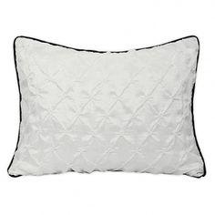 Wake Up Frankie - Pucker Up Standard Sham - Snow White : Teen Bedding, Pink Bedding, Dorm Bedding, Teen Comforters